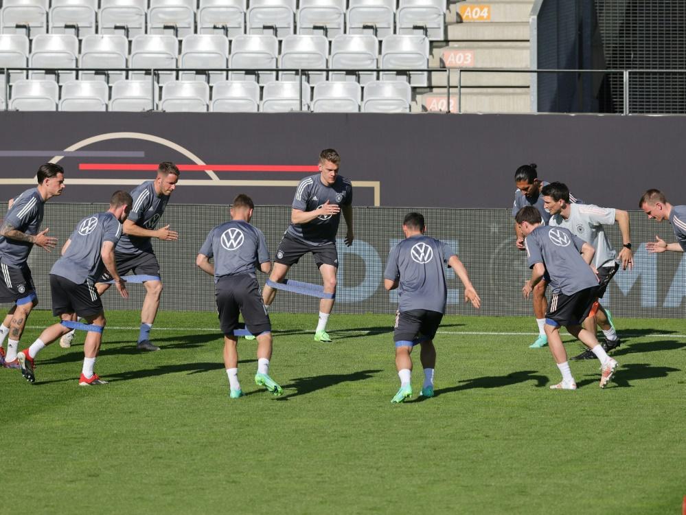 Das DFB-Team trainiert in Herzogenaurach