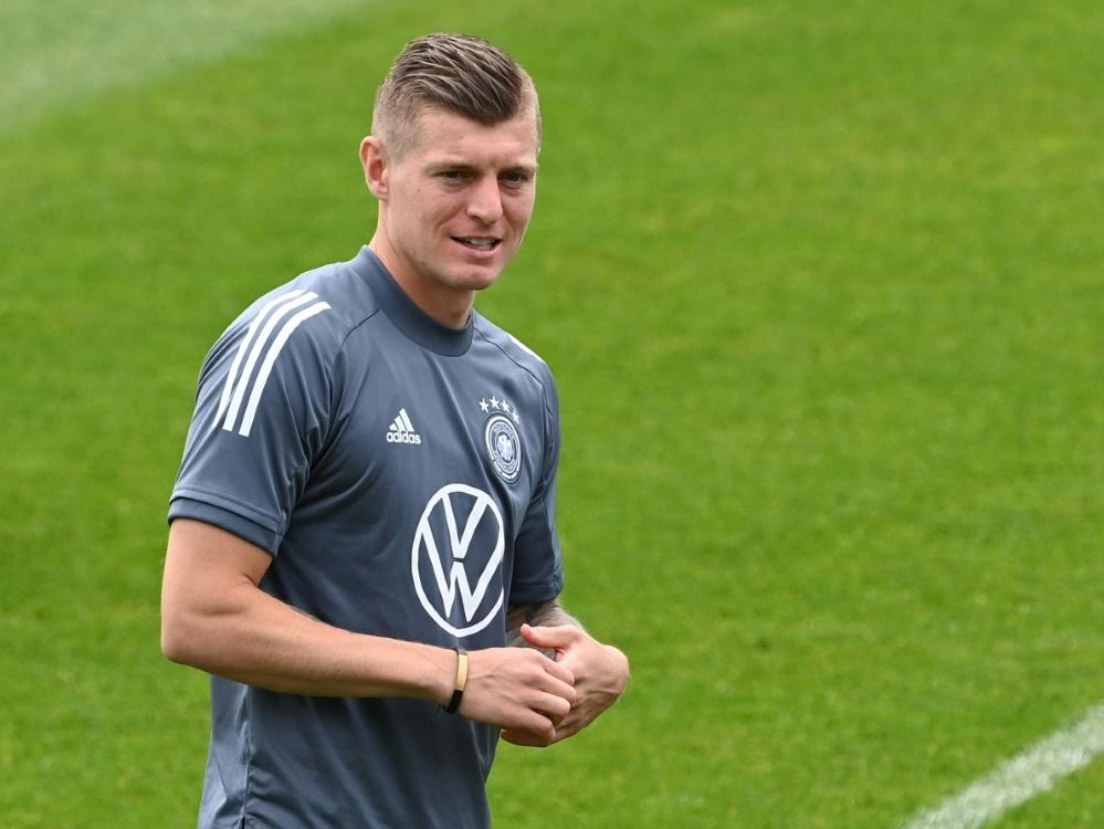 Kroos vor Frankreich-Spiel optimistisch