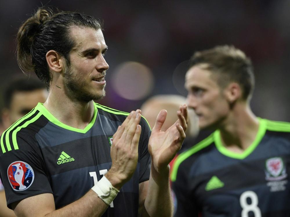 2016 stand Gareth Bale mit Wales im EM-Halbfinale