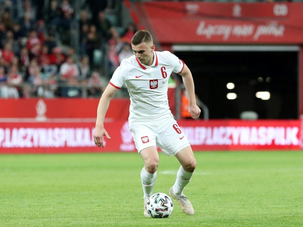 Kacper Koslowski ist der jüngste Spieler der EM-Historie