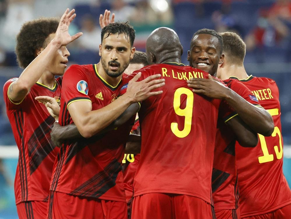 Belgien nach perfekter Vorrunde im Achtelfinale