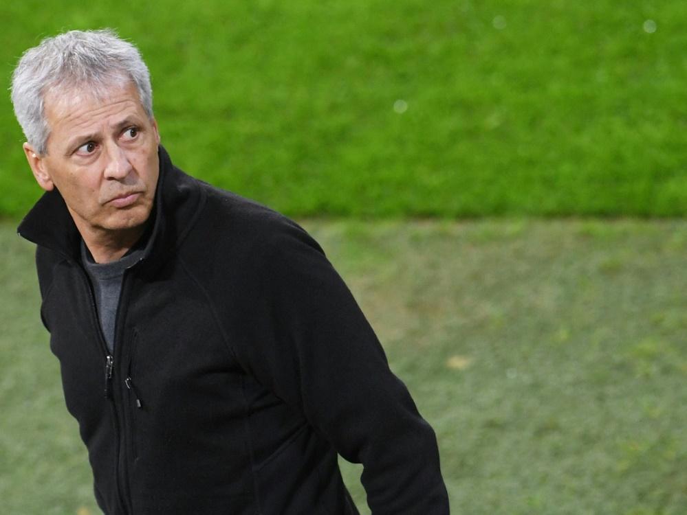 Der ehemalige Chefcoach vom BVB: Lucien Favre (Foto: SID)