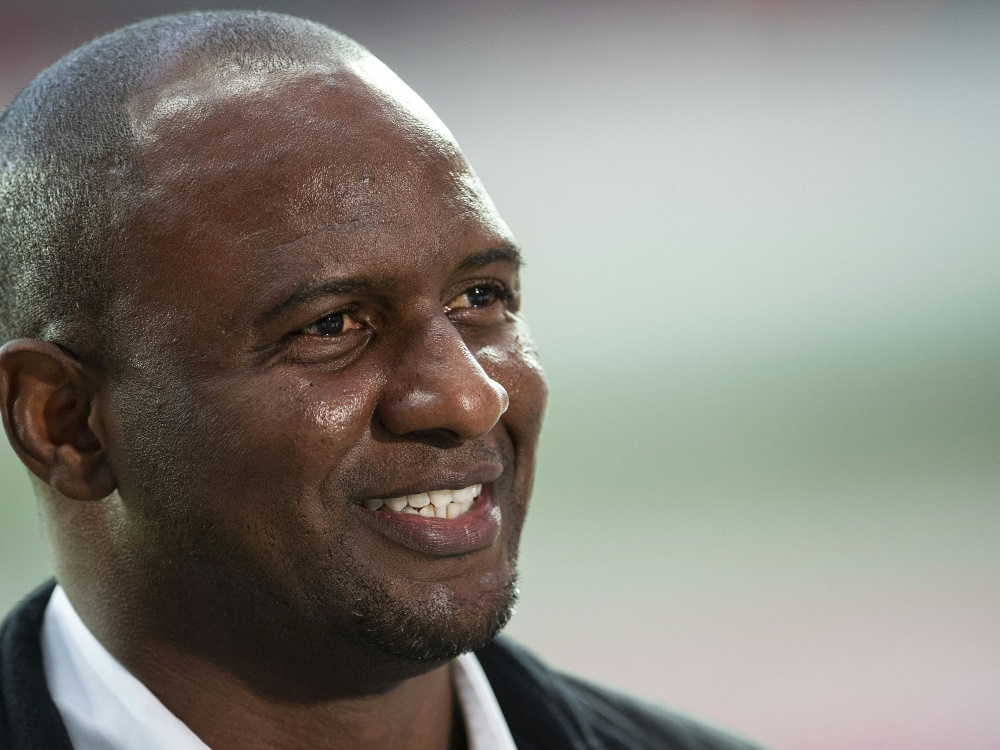 Patrick Vieira wird Teammanager bei Crystal Palace (Foto: SID)