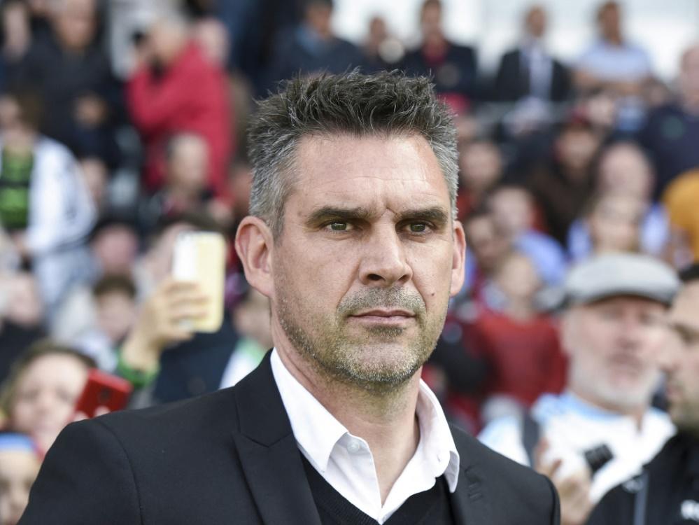 Jocelyn Gourvennec wird neuer Trainer in Lille (Foto: SID)