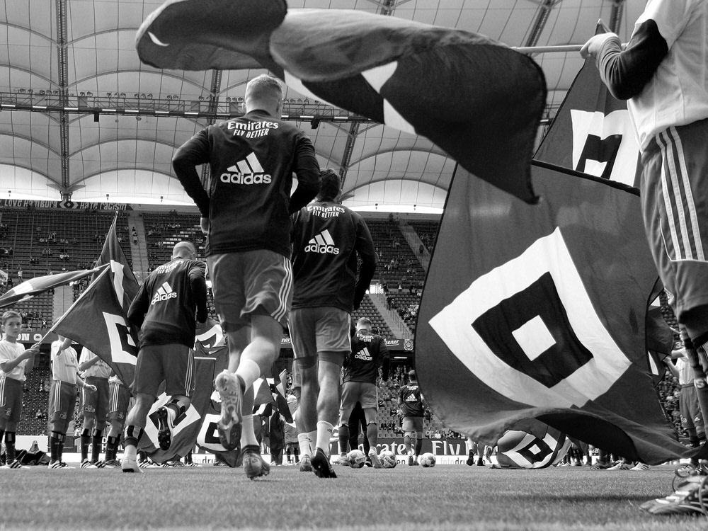 Trauer beim HSV - Hans-Jürgen