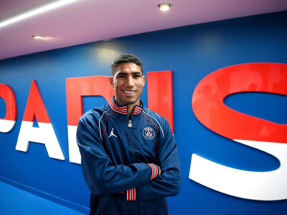 Hakimi wechselte für geschätzte 60 Millionen Euro zu PSG (Foto: SID)