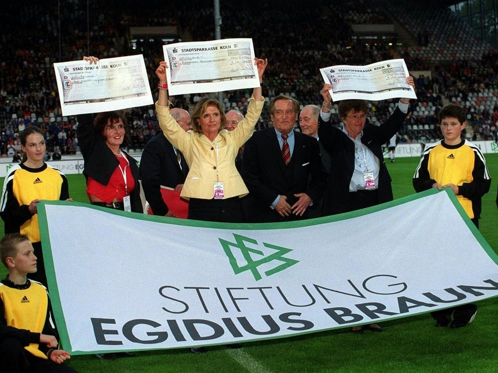 DFB-Stiftung Egidius Braun feiert 20-jähriges Bestehen (Foto: SID)