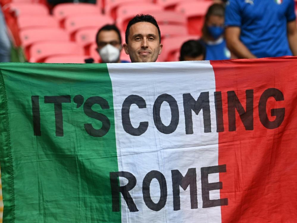 Italien will sich für großes Turnier bewerben (Foto: SID)