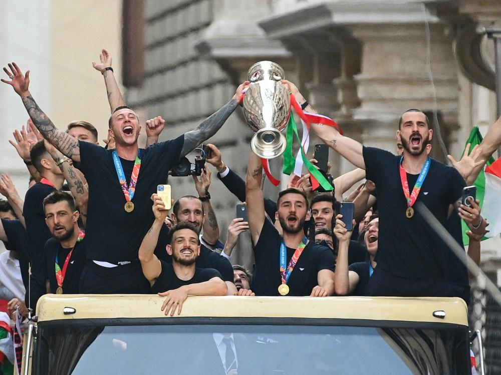Italien für Mehrzahl der Fans ein verdienter EM-Sieger (Foto: SID)