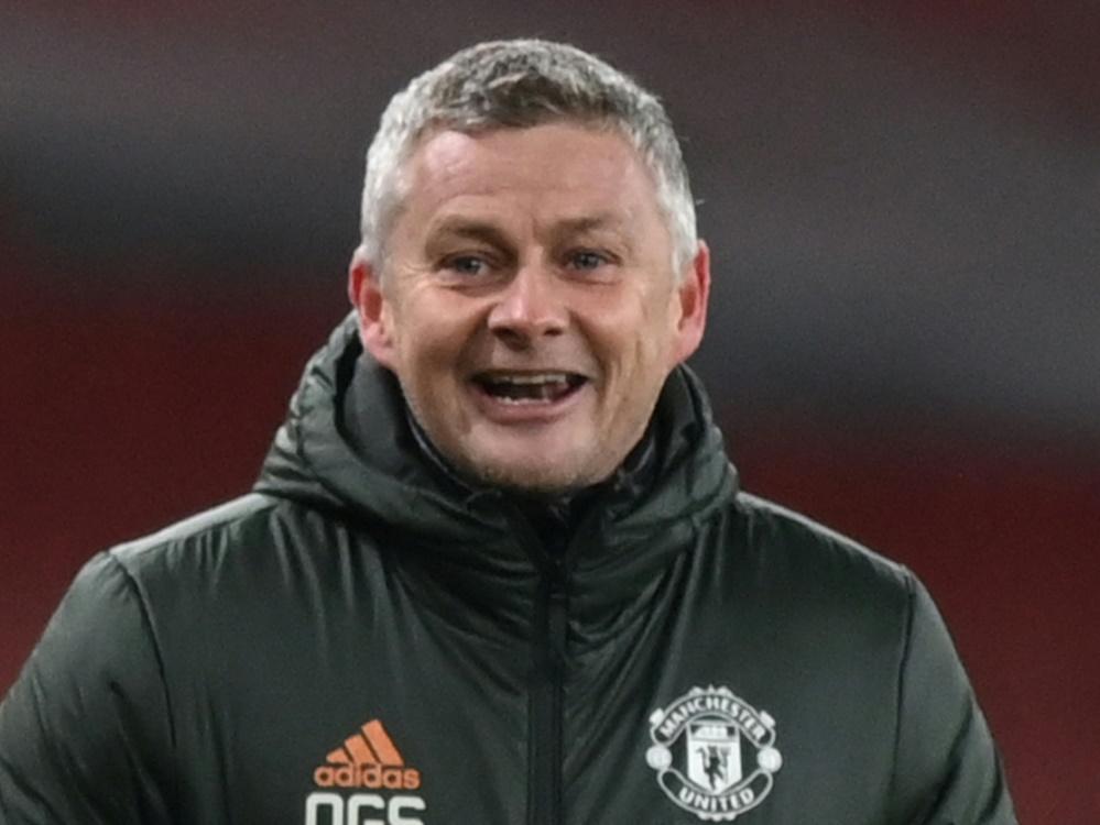 Ole Gunnar Solskjaer bleibt Manchester United erhalten (Foto: SID)