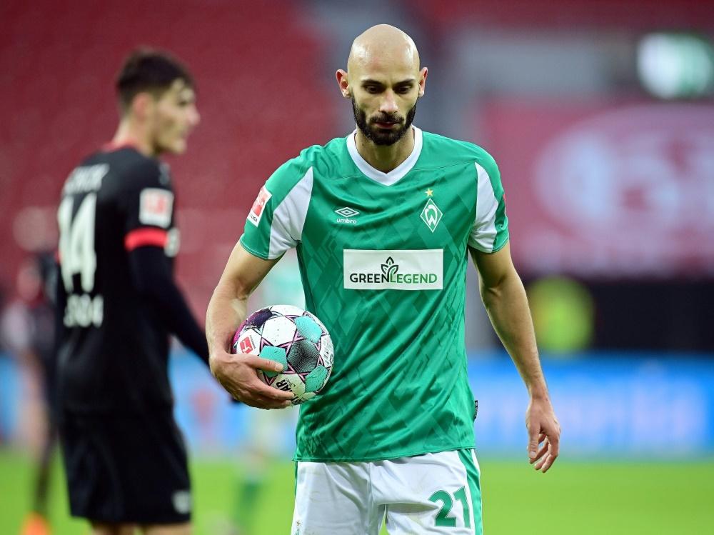Neuer Spielführer bei Werder: Ömer Toprak (Foto: SID)