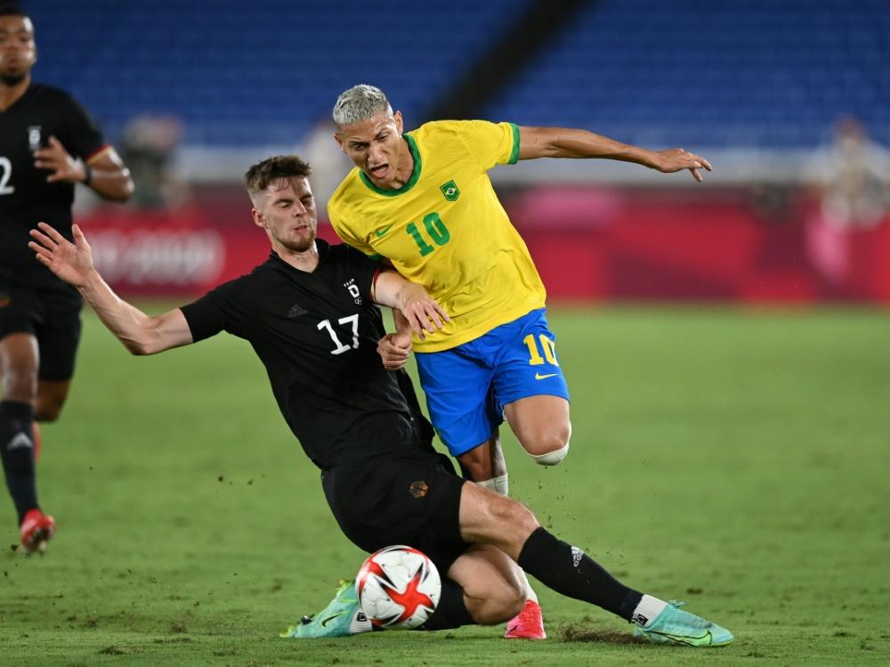 Deutschland verliert Auftakt gegen Brasilien (Foto: SID)