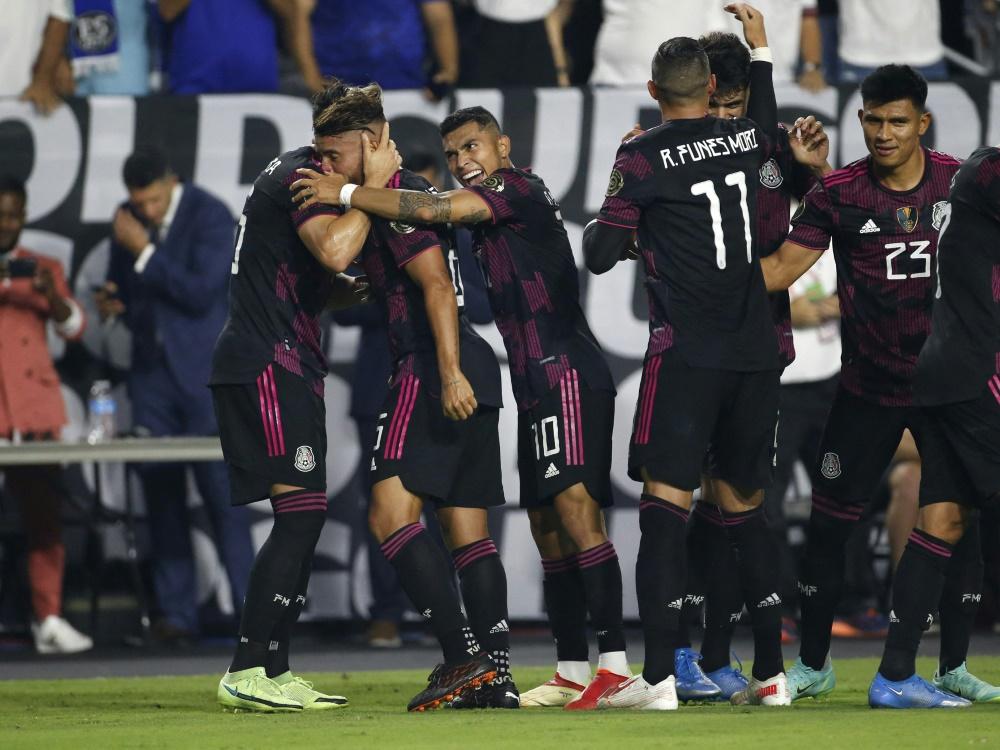 Gold Cup: Mexiko qualifiziert sich für Halbfinale (Foto: SID)