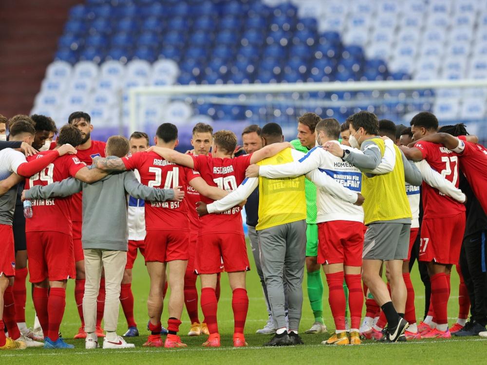 Hertha nur 1:1 gegen Regionalligisten (Foto: SID)