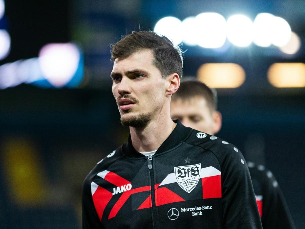 Stenzel schoss den VfB zum Sieg im Test-Turnier (Foto: SID)