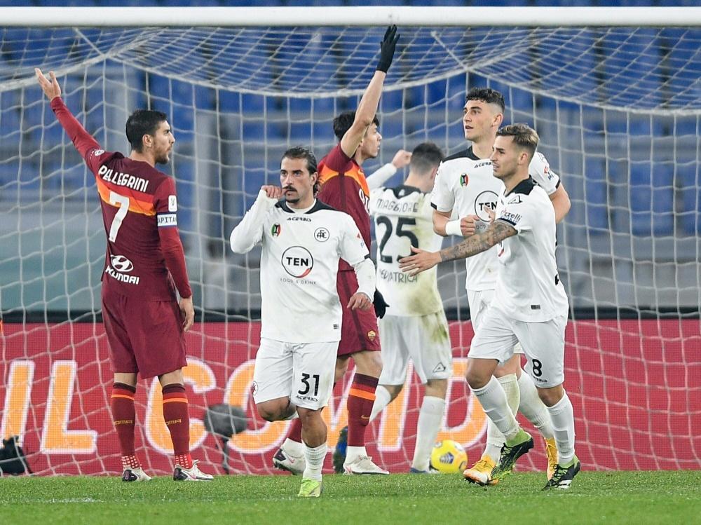 Italien: Weitere Coronafälle bei Spezia Calcio (Foto: SID)