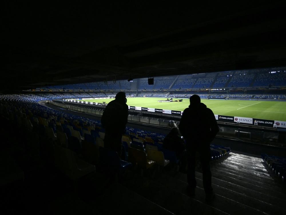 Neapels Stadion wird umbenannt (Foto: SID)