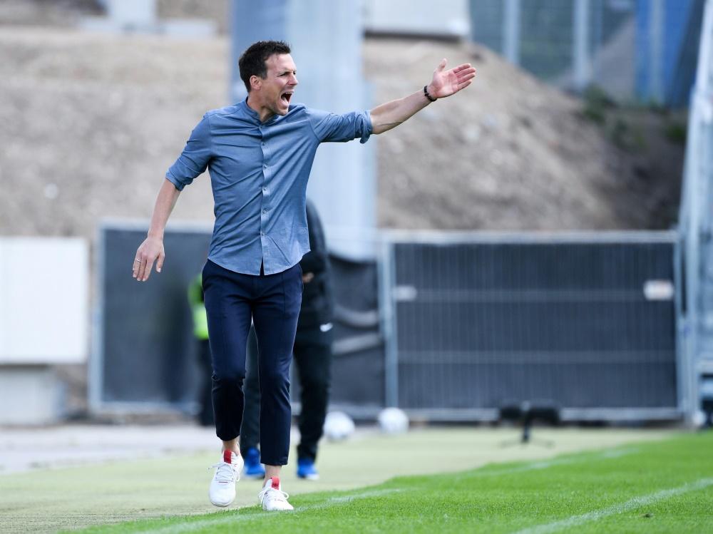 Heeger verstärkt die Mannschaft von Trainer Eichner (Foto: SID)