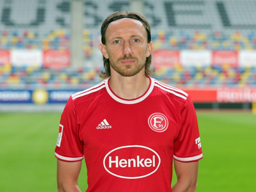 Adam Bodzek auch in Zukunft Fortuna-Kapitän (Foto: SID)