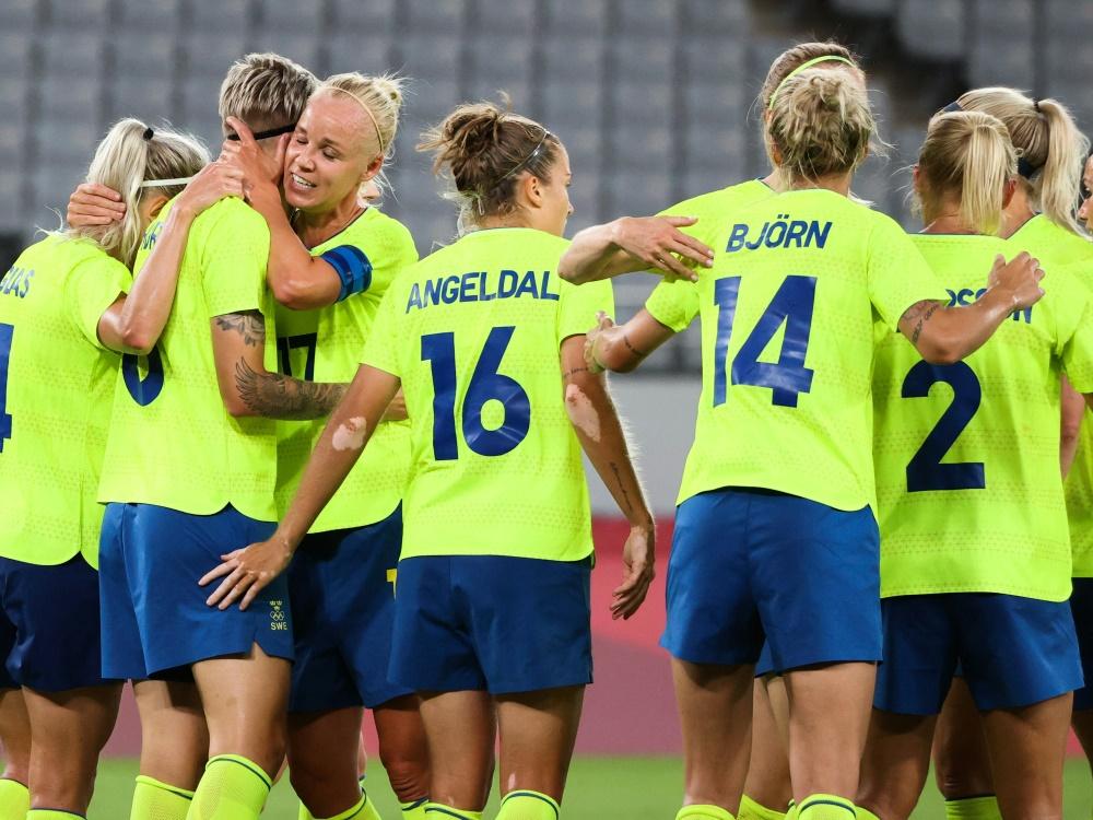 Schweden gewinnt zum Auftakt deutlich gegen die USA (Foto: SID)