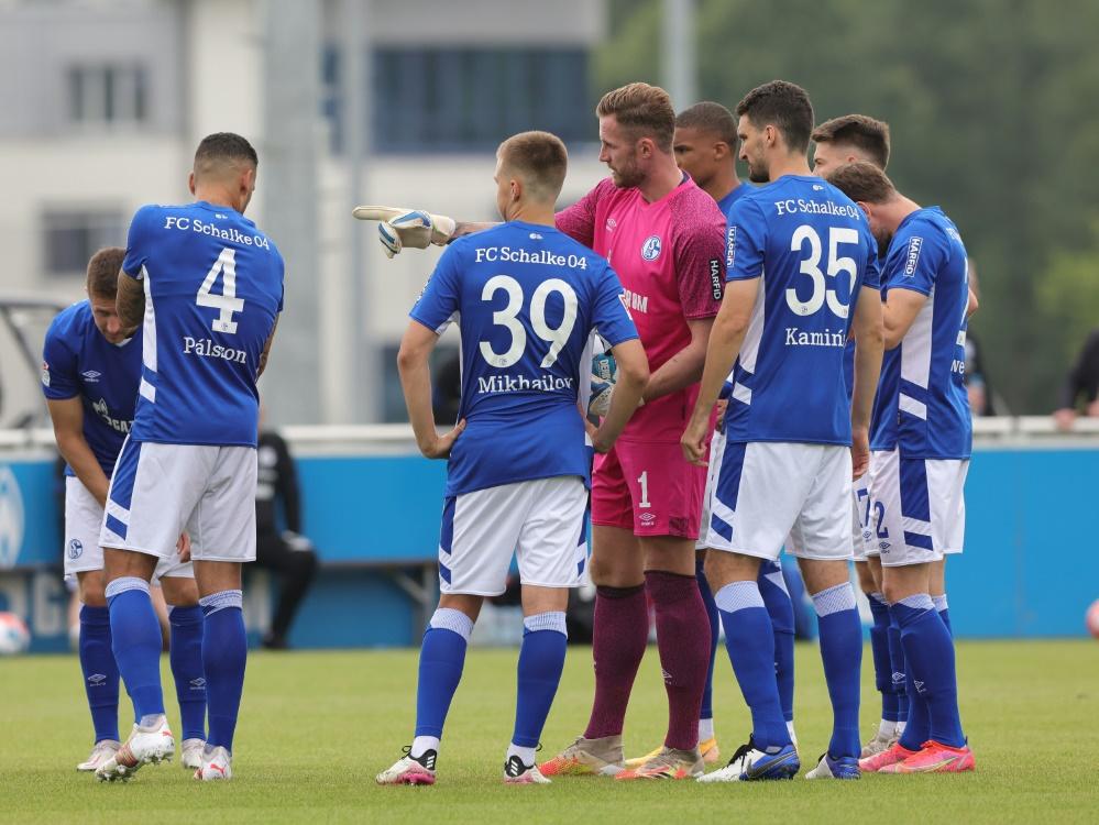 Schalke 04 geht in ein Quarantäne-Trainingslager (Foto: SID)