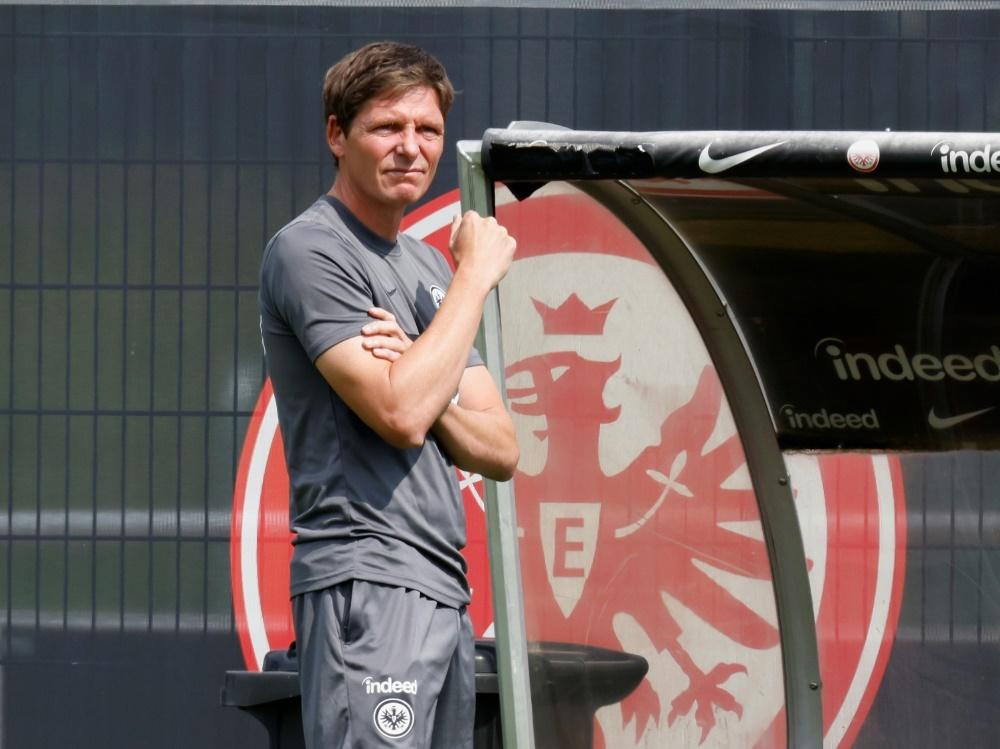 Erneuter Testspiel-Erfolg für Frankfurt und Glasner (Foto: SID)