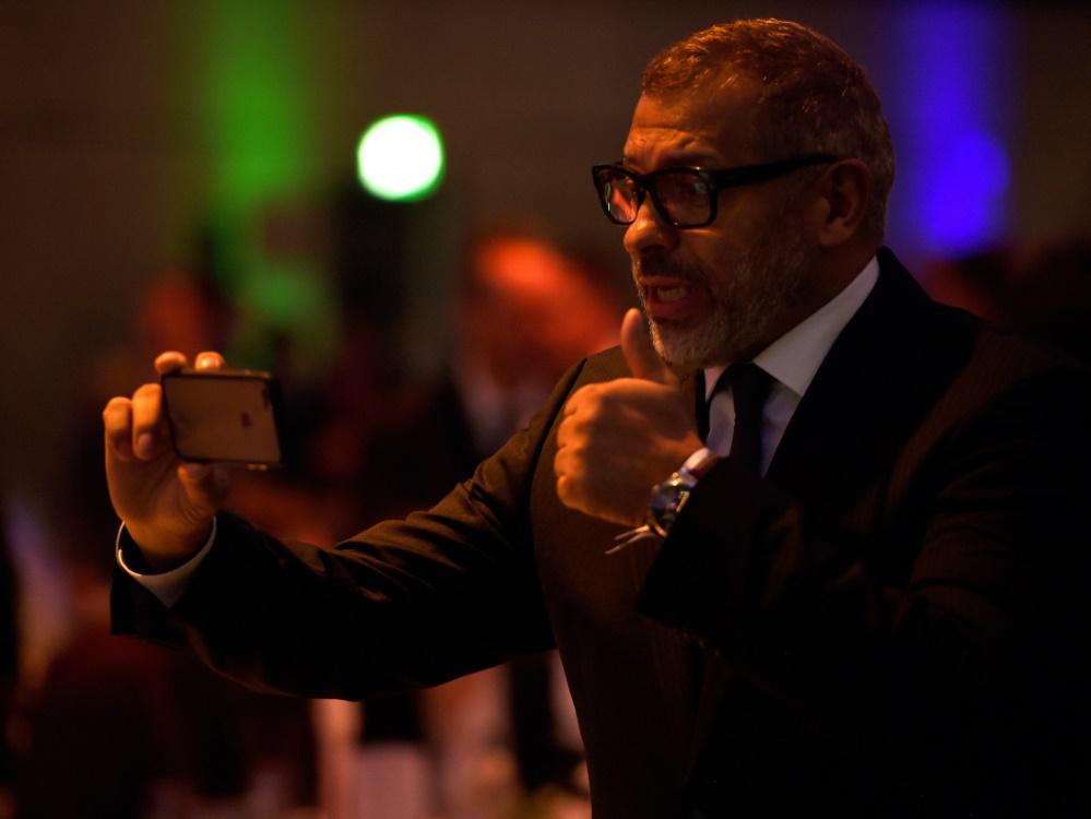 Jimmy Hartwig will Präsident des DFB werden (Foto: SID)