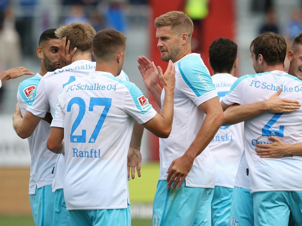 Schalke besiegt Holstein Kiel 3:0 (Foto: SID)