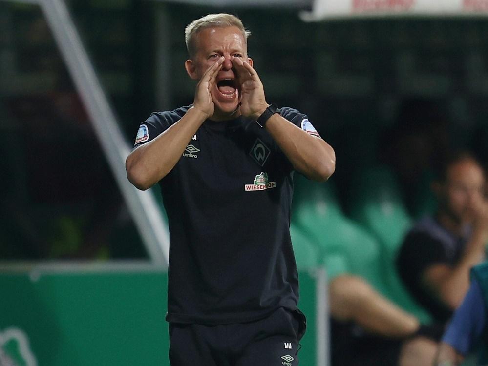 Markus Anfang holt mit Bremen drei wichtige Punkte (Foto: SID)