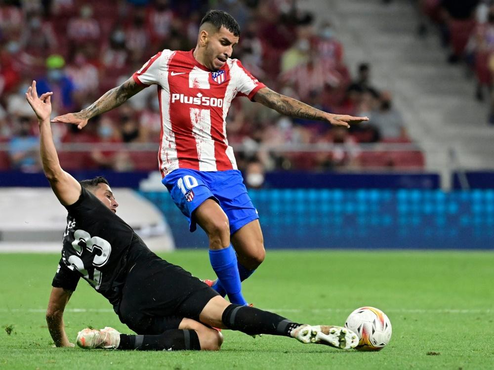 Trifft für Atletico: Angel Correa (Foto: SID)