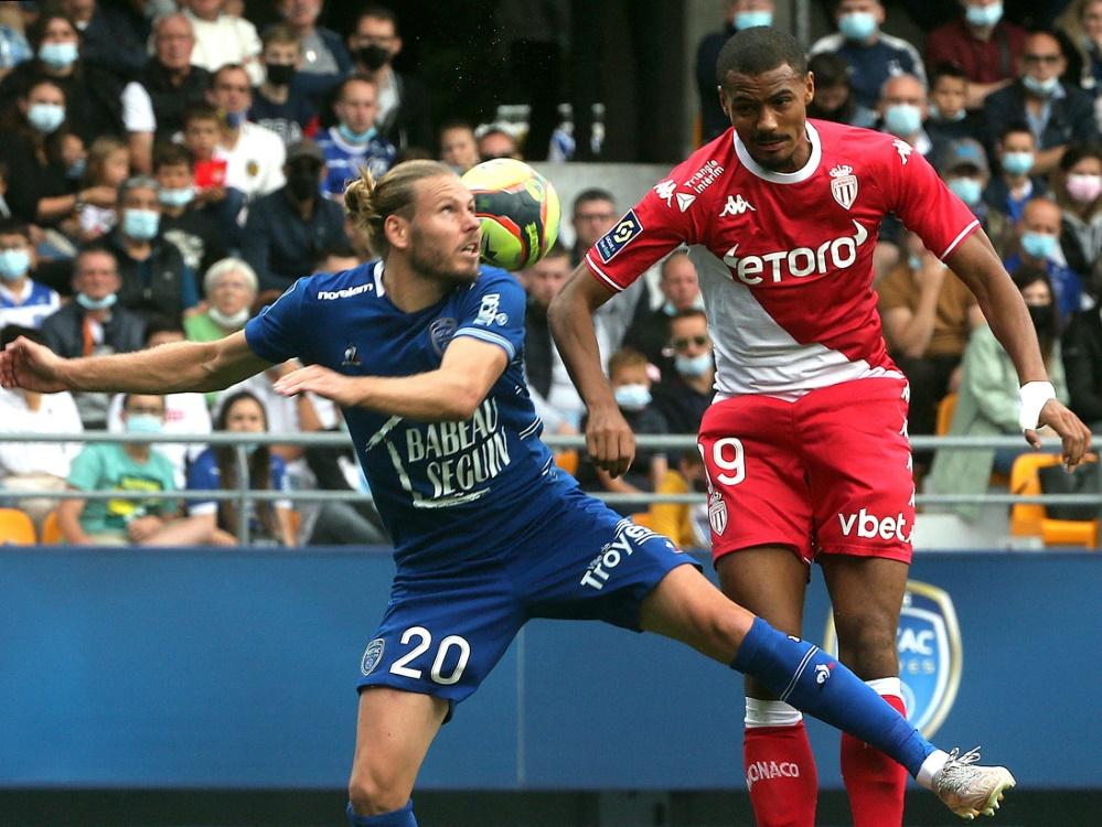 Der AS Monaco siegt gegen ES Troyes (Foto: SID)