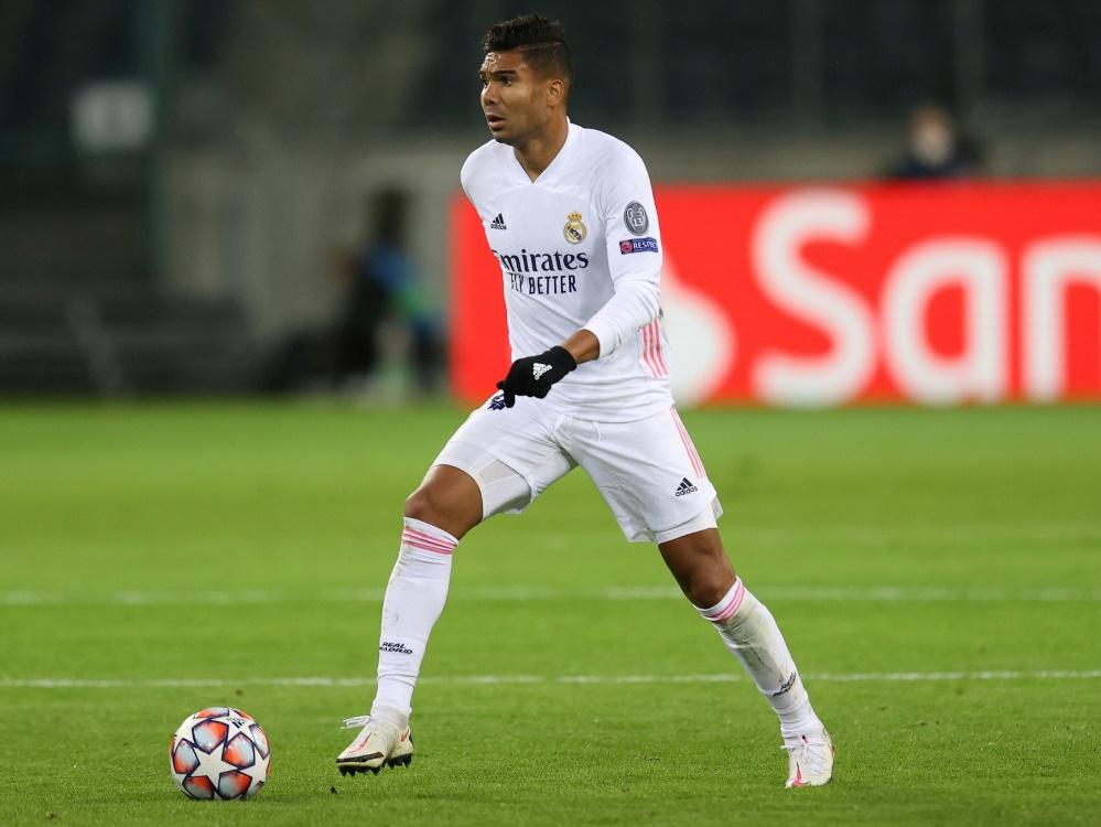 Casemiro spielt seit 2013 für Real Madrid (Foto: SID)
