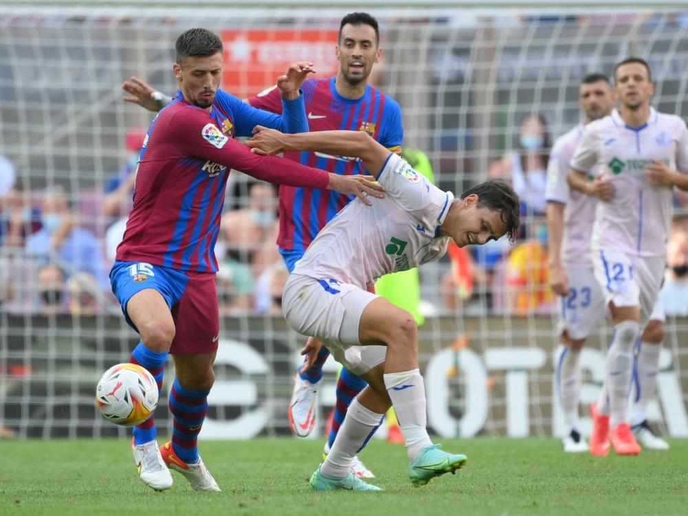 Barcelona gewinnt mit 2:1 gegen den FC Getafe (Foto: SID)