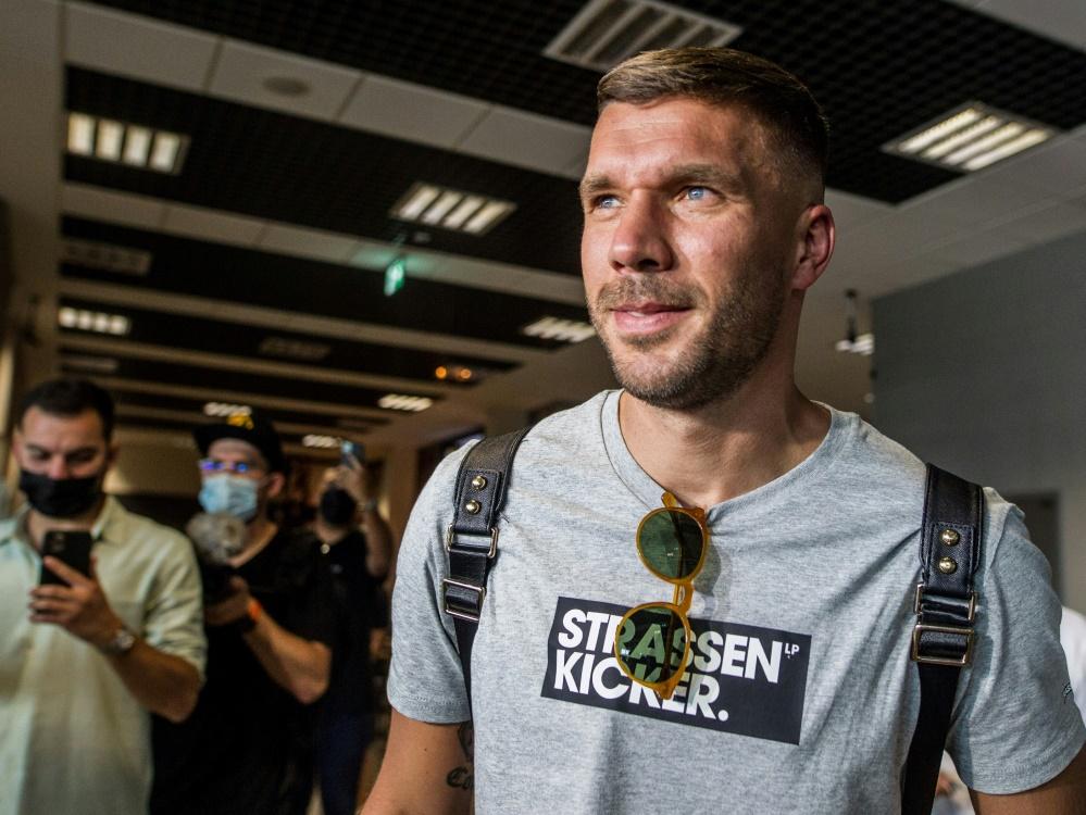 Lukas Podolski wird RTL-Experte bei Europacup-Spielen (Foto: SID)