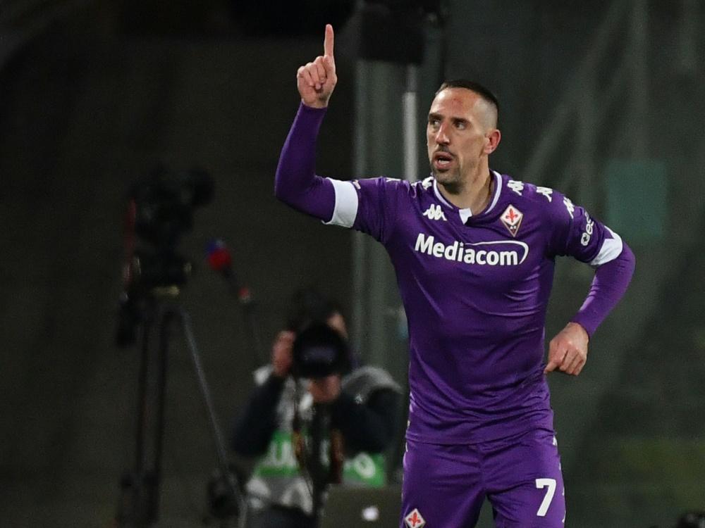 Franck Ribery vor Wechsel nach Süditalien (Foto: SID)