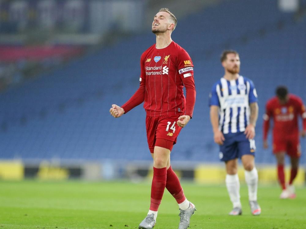 Henderson bleibt Liverpool auch weiterhin erhalten (Foto: SID)