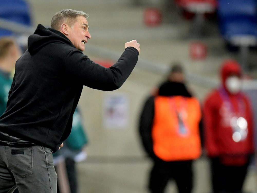 U21: DFB hofft auf Kuntz-Verbleib (Foto: SID)