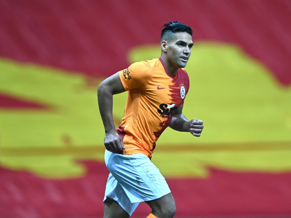 Falcao löste seinen Vertrag bei Galatasaray Istanbul auf (Foto: SID)
