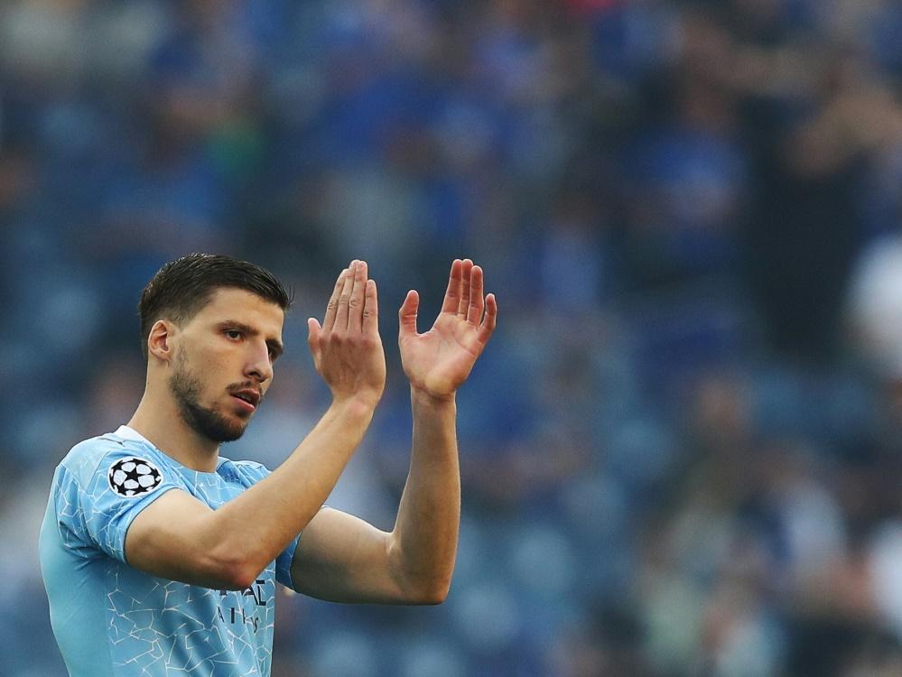 Dias unterschreibt neuen Vertrag bei Manchester City (Foto: SID)