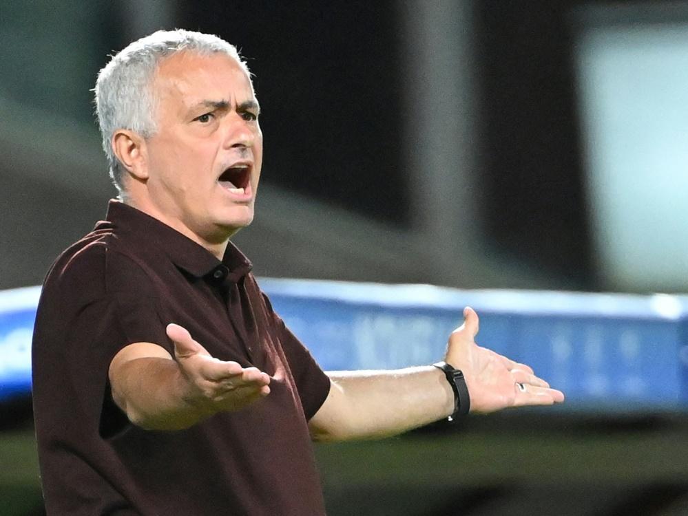 Jose Mourinho muss mit dem Sparkurs von AS Rom arbeiten (Foto: SID)