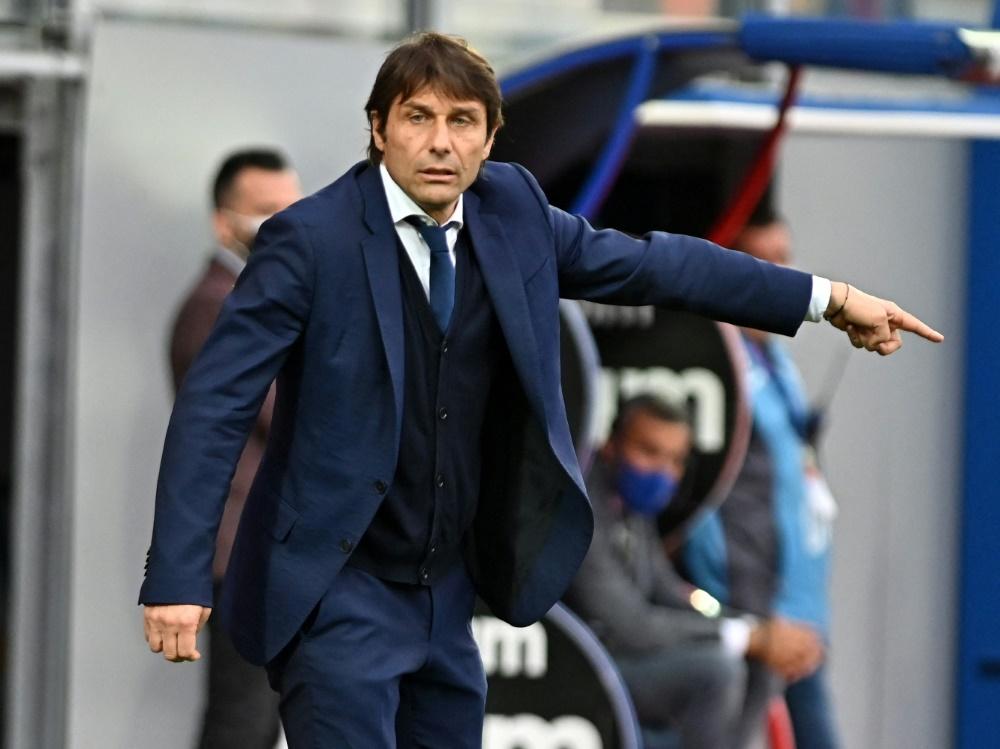 Conte legt eine Trainerpause ein und wird TV-Experte (Foto: SID)