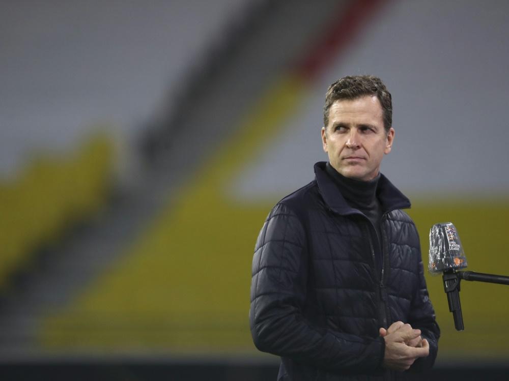 Bierhoff räumt Fehler im Auftreten des DFB-Teams ein (Foto: SID)