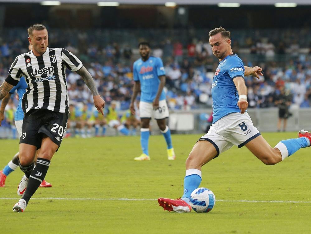 SSC Neapel sichert sich drei Punkte gegen Juventus (Foto: SID)