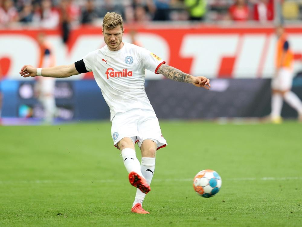 Holstein Kiel spielt unentschieden (Foto: SID)