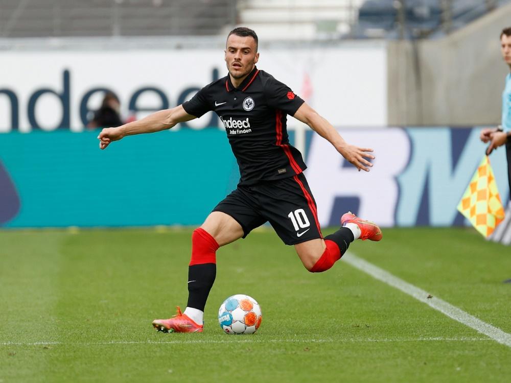 Filip Kostic trifft zum 1:0 gegen Stuttgart (Foto: SID)