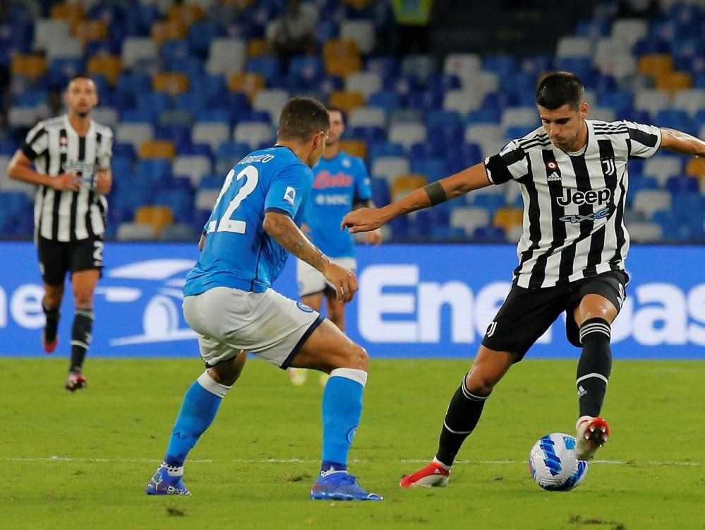 Juve verliert auch gegen Neapel (Foto: SID)