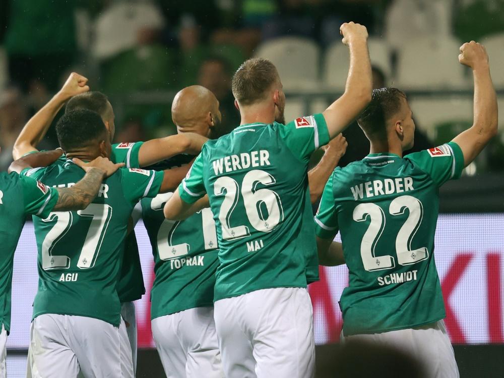 Werder Bremen gewinnt deutlich in Ingolstadt (Foto: SID)