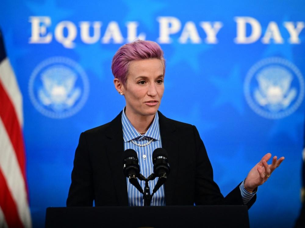 US-Frauenteam um Rapinoe soll gleich bezahlt werden (Foto: SID)