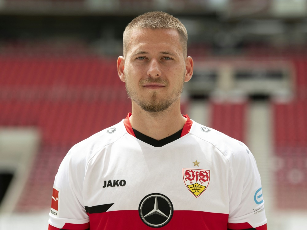 Waldemar Antonfehlt beim Spiel gegen Bayer Leverkusen (Foto: SID)