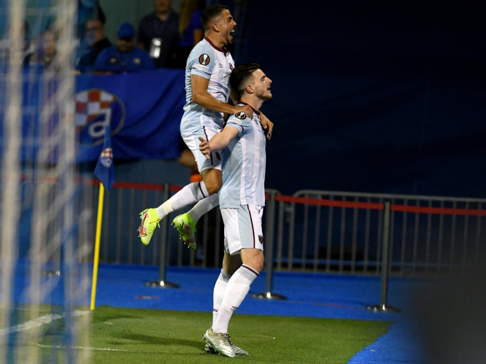 Europapokal: West Ham United gewinnt gegen Zagreb (Foto: SID)